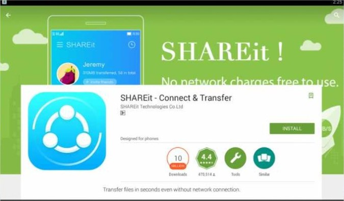 shareit foe windows,shareit for pc