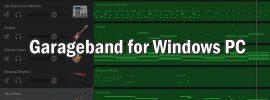 Garageband for Windows PC