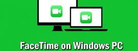 facetime on PC windows
