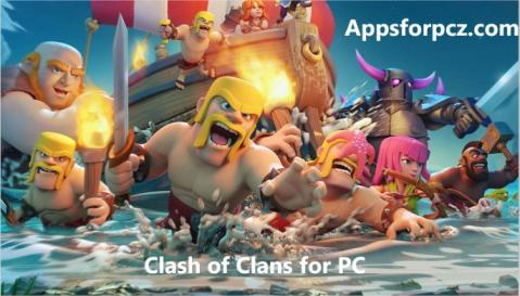 clash of clan for pc, download, how to play, install