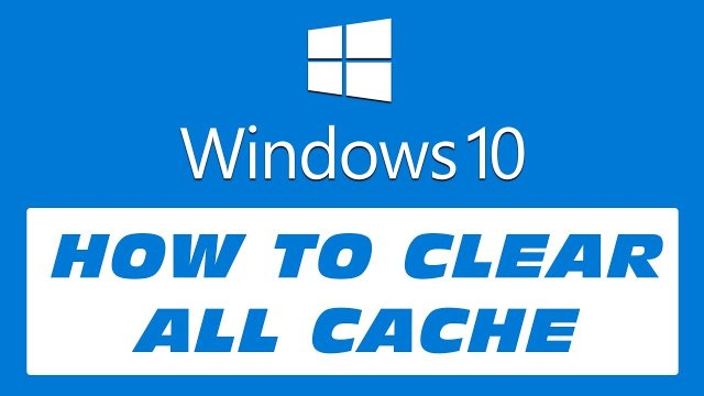 clear cache memery on pc, clear cache on windows pc