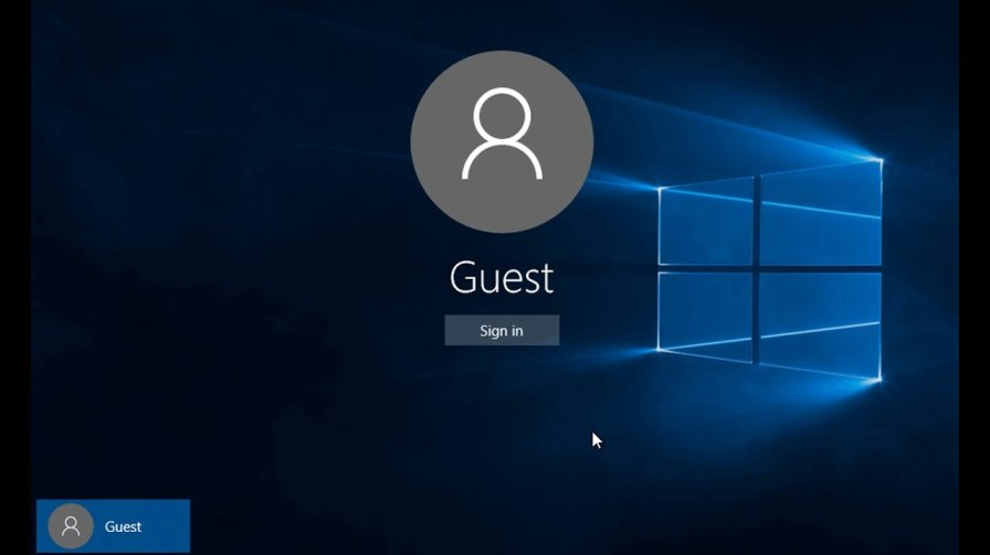 create guest account, delete guest account, switch guest account
