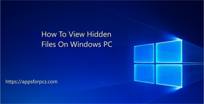 how to protect hidden files, view